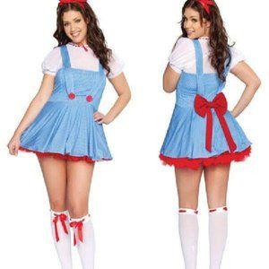 Sweet Dorothy Fancy Dress Costume S/M